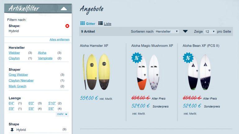 frittboards produktangebot hybrid surfboards