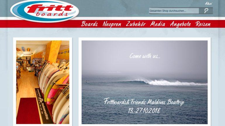 frittboards startseite im surfshop test