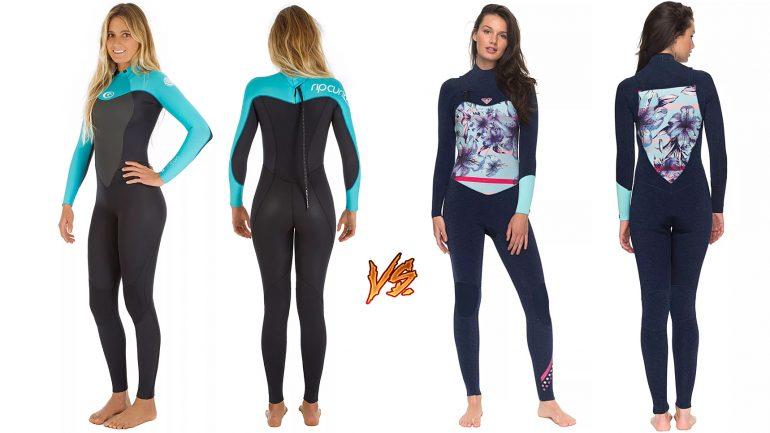 frontzip vs. backzip - vergleich der verschiedenen Modelle bei Neoprenanzügen und Wetsuits