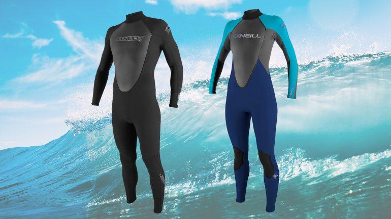 oneill reactor wetsuit im neoprenanzug test