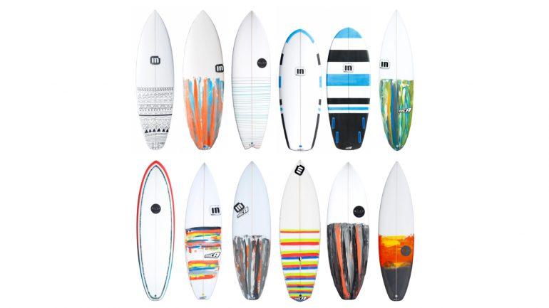 mica surfboards verschiedene designs und paints