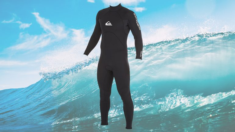 quicksilver syncro base im wetsuit-test