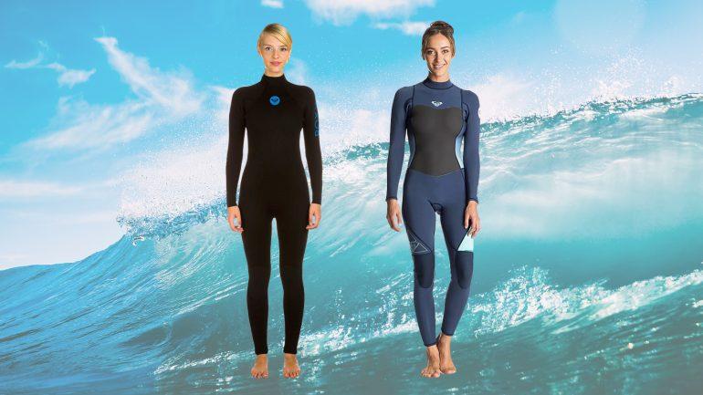 roxy syncro wetsuit im neoprenanzug test