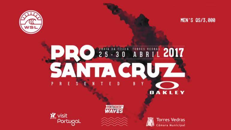 santa cruz world surf league event mit aktion der surflodge