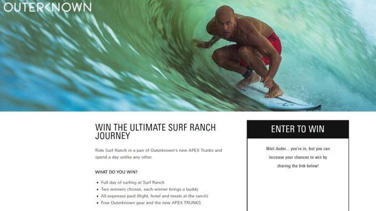 gewinnspiel surfen wie kelly slater auf der surfranch