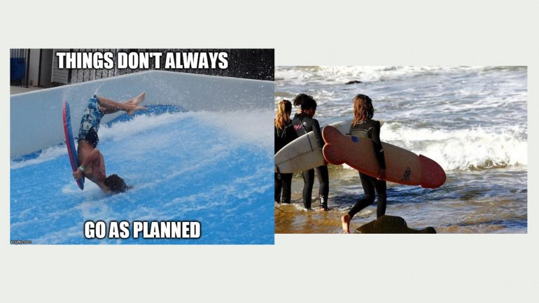 surfer meme surfboard fail penis