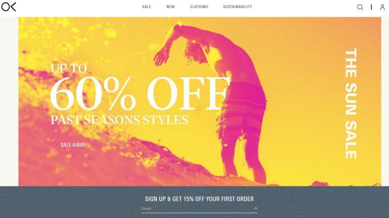 bis zu 60 prozent rabatt auf surfer klamotten bei outerknown im summer sale
