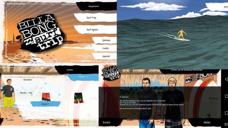surfer apps im test billabong surftrip game