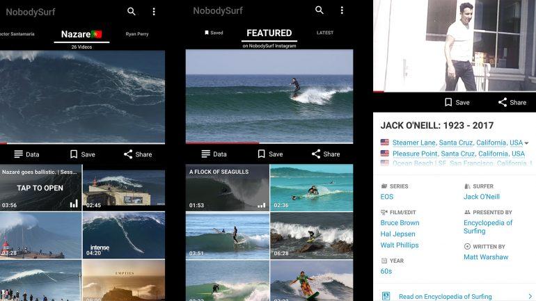 nobody surf video app im surfer test