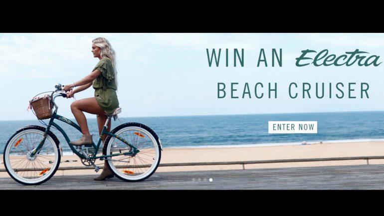 gewinne bei Billabong ein Strandfahrrad Electra Beachcruiser