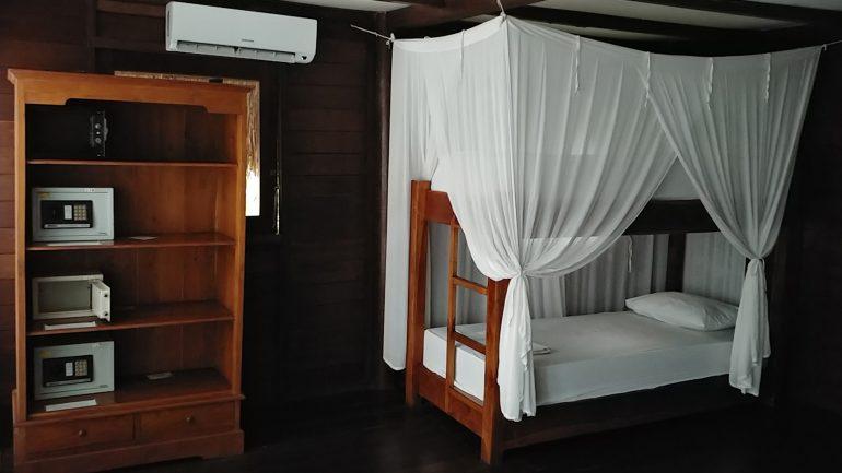Lumbung Zimmer im Kima Surfcamp auf Bali