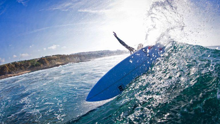 Mica Surfboards gebrauchte Surfbretter von Tiago Pires einem der besten Surfer Portugals