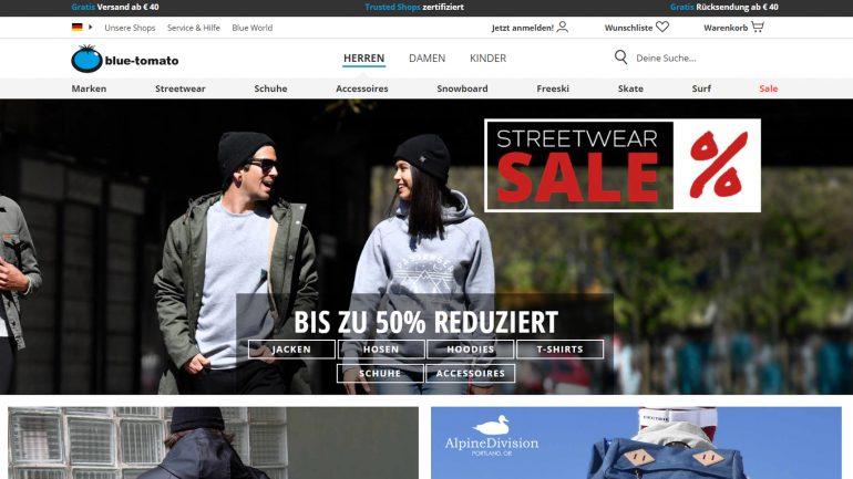 streetwear für surfer um bis zu 50 billiger bei blue tomato