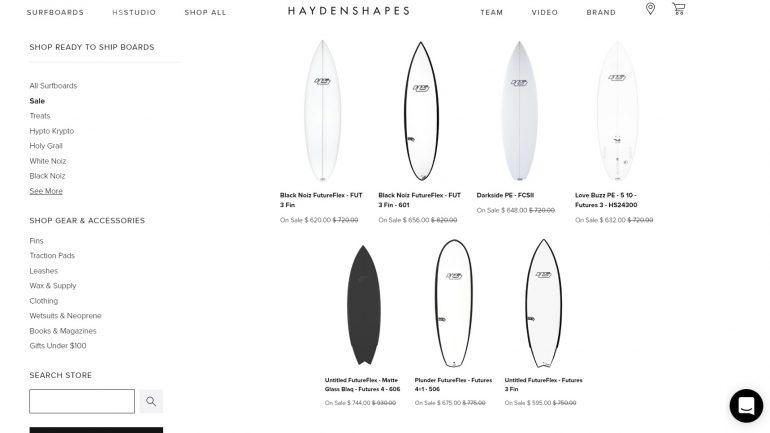 Surfbretter von haydenshapes preisreduziert im sale 2018