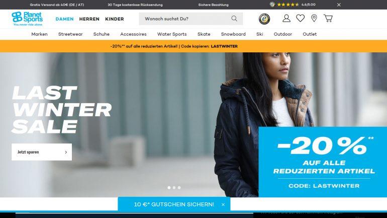 last winter sale bei planet-sports.de für snowboarder skifahrer und co