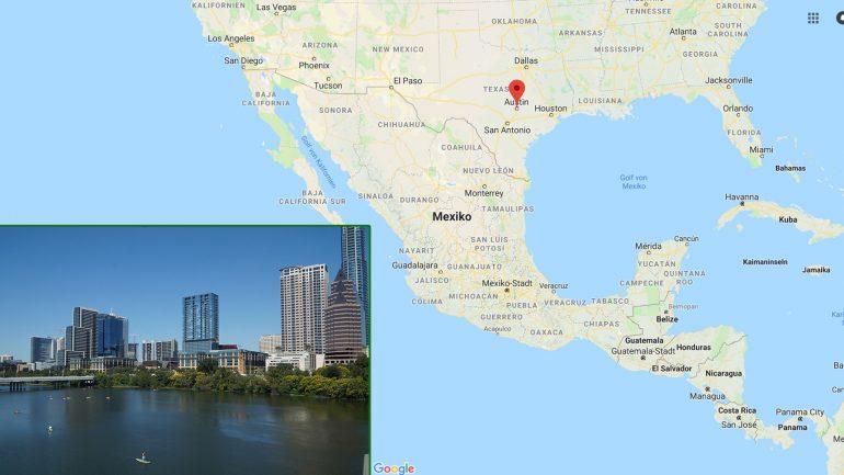 austin texas lebenswerte stadt und surfdestination geographische lage