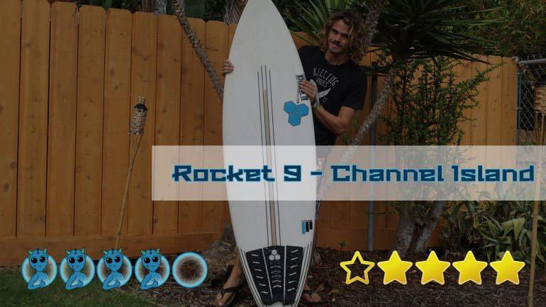 erfahrungsbericht und bewertung: das rocket 9 surfbrett von channel island im surfboard-test