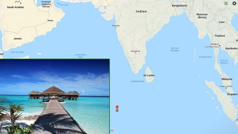 Nummer 1 surfdestination Malediven geographische Lage