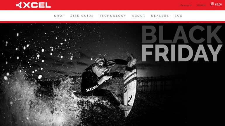 minus 60 % auf Wetsuits und Neoprenanzüge für Surfer bei XCel