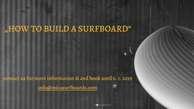mica surfboards how to build a surfboard workshop in january 2019