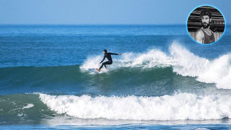 unser david surft in ericeira - 5 fragen an einen surfcoach die du dich nicht trauen würdest zu stellen