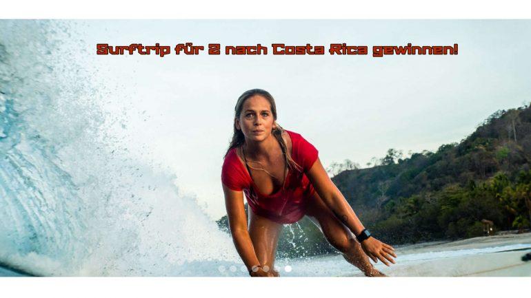 gewinne einen surftrip für dich und deinen partner nach costa rica mit lapoint surfcamps
