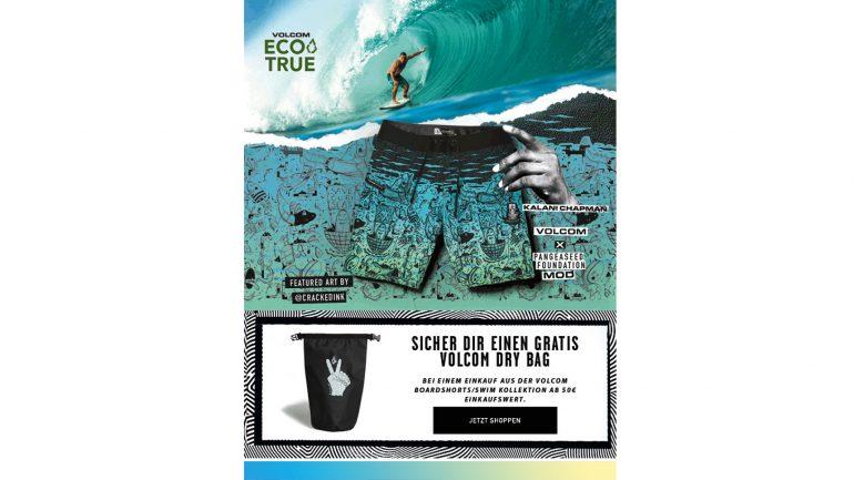 volcom surfshort kaufen und kostenlose drybag obendrauf bekommen